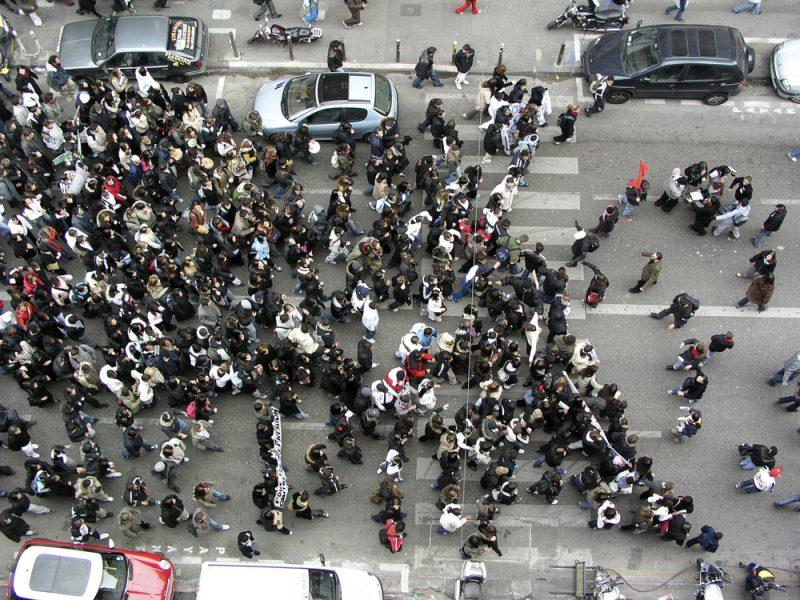 Demonstrationer – en del av det politiska livet